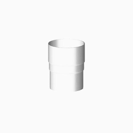 Gamrat 90 З'єднувач труби, білий