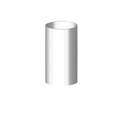 Gamrat 90 Труба 3 м, білий
