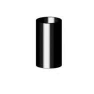 Gamrat 90 Труба 3 м, чорний