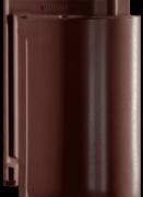 Creaton Balance черепиця рядова коричнева ангобована
