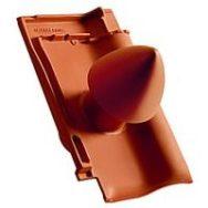 Creaton Елемент вентиляційнної труби керамічний d=100 сланцевий ангобований