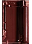 Creaton Titania черепиця рядова винно-червона ангобована