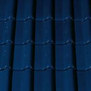 Creaton Futura черепиця рядова темно-синя глазур