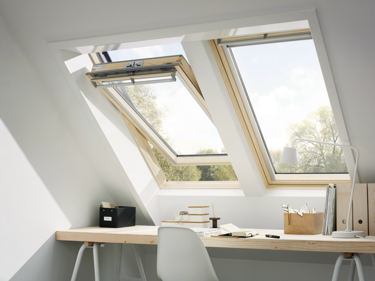Velux OptimaGZR 3050 Вікно 78 x 98, ручка зверху