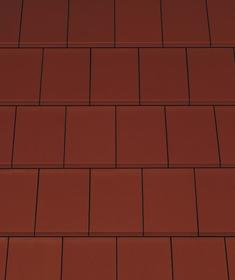 Creaton Domino черепиця рядова винно-червона ангобована