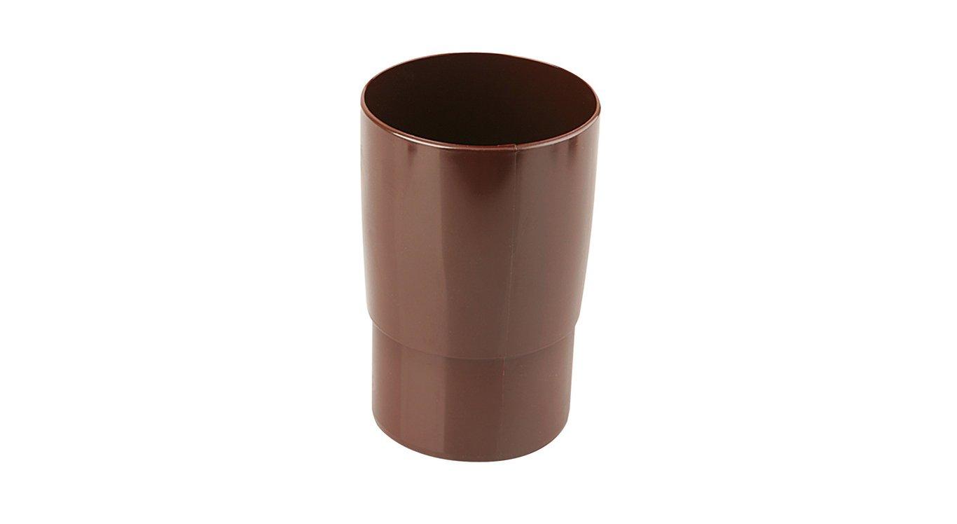 Marley 105 Муфта труби, коричневий