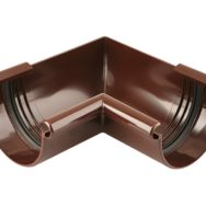 Marley 125 Кут ринви 90° внутрішній, коричневий