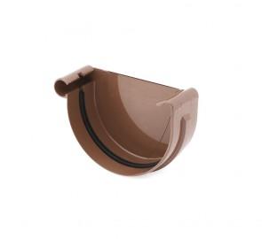 Bryza 150 Заглушка ринви ліва, коричнева