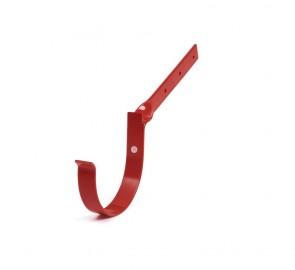 Bryza 125 Тримач ринви метал боковий, червоний