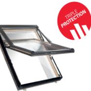 Roto вікно з піднятою віссю Designo R79 K WD (ПВХ) <br/>74 х 118