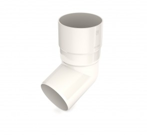 Bryza 90 Коліно труби, біле