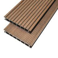 Gamrat Террасная доска <br/>25 х 160 х 3000 мм <br/>темно-коричневая