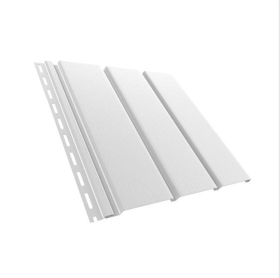 BudMat Софіт панель неперфорована 306 х 3000 мм біла