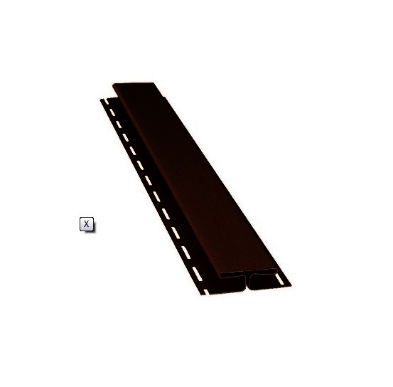 BudMat Н-планка 3000 мм темно-коричнева