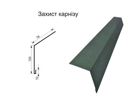 Захист карнізу матполіестер 0,45 мм
