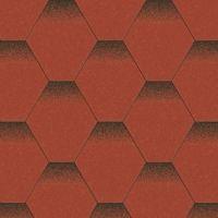 Aquaizol Бітумна черепиця Мозаїка червоний мак