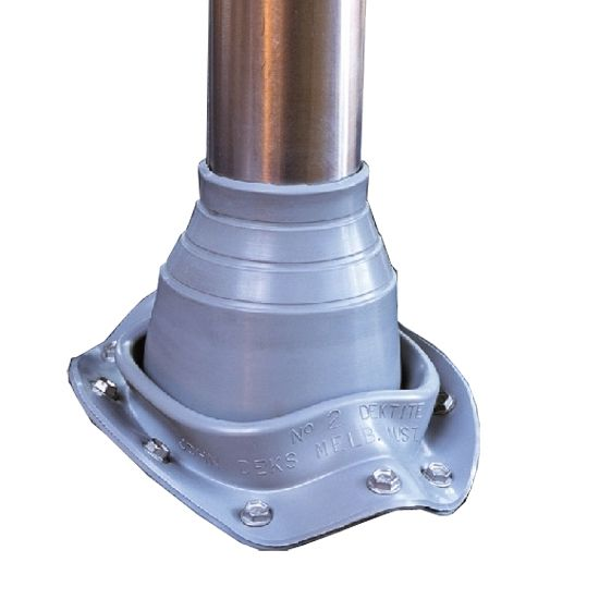 Dektite Original діаметр труби 0-35 мм основа діаметр 92 мм cірий