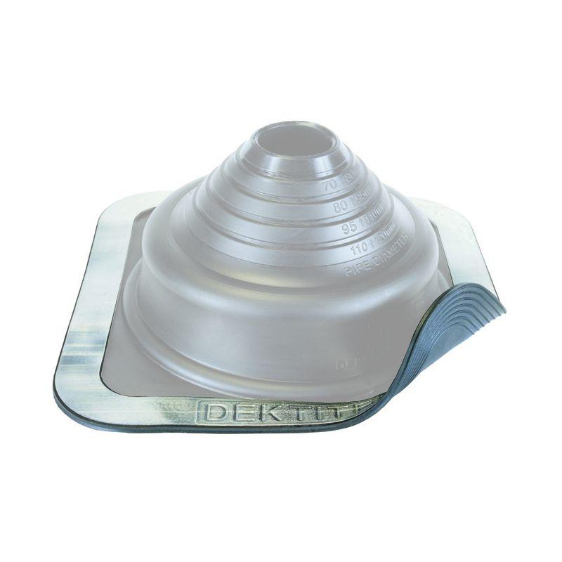 Dektite Premium діаметр труби 75-175 мм основа 280 х 280 мм сірий