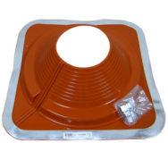 Dektite Combo діаметр труби 175-330 мм основа 454 х 454 мм червоний