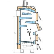 Котел твердопаливний Aqua Power 35 kW