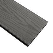 Терасна дошка HOLZDORF Impress безшовна 153х24,5х3000 мм тип 2 графіт